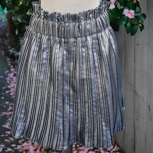 Zara Pleated Mini Skirt